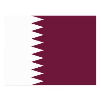 Qatar – Qatari Flag Postcard