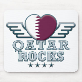 Qatar Rocks v2 Mousemat