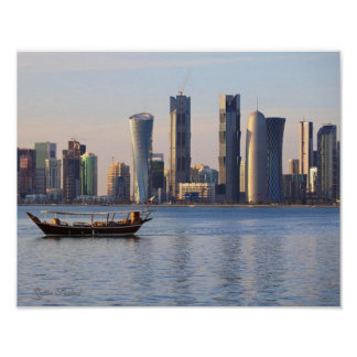 Qatar Seabed - Value Poster Paper (Matte)