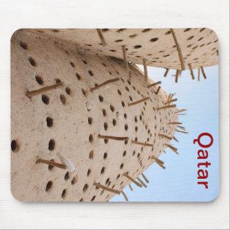 Qatari pigeon house mouse pad