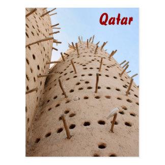 Qatari pigeon house postcard