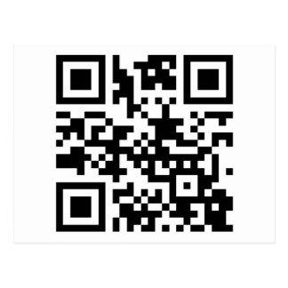 QC-código AWOL Tarjetas Postales