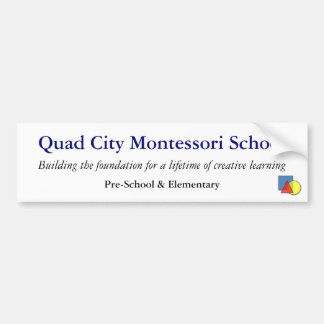 QCMS School Bumper Sticker