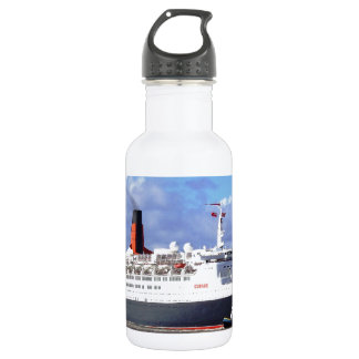 QE11 On the River Mersey, Liverpool UK 18oz Water Bottle