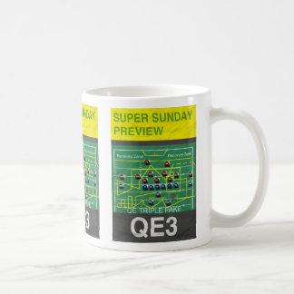 QE3 Triple Fake! Coffee Mug
