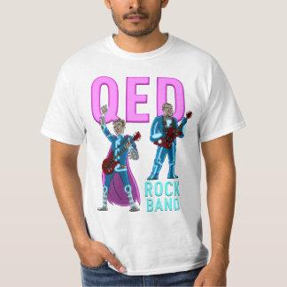 QED rock band tee