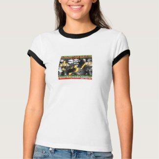 QEDAMAWI HAILE SELASSIE - Amharic T-Shirt