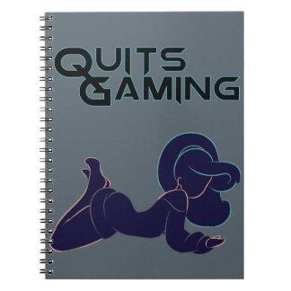 QG Silhouette 2 Spiral Notebook