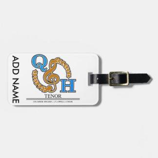 QHHS Vocal Assoc Tenor Bag Tag