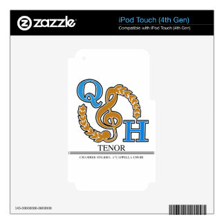 QHHS Vocal Assoc Tenor Decal For iPod Touch 4G