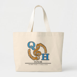 QHHS Vocal Assoc Tenor Large Tote Bag