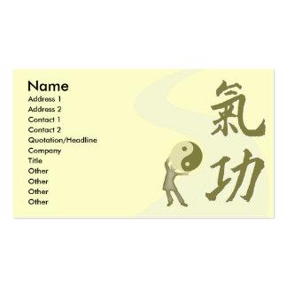 Qi Gong Business Card