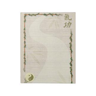 Qi Gong Notepad