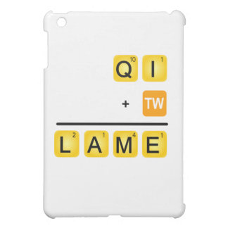 QI is LAME! Cover For The iPad Mini