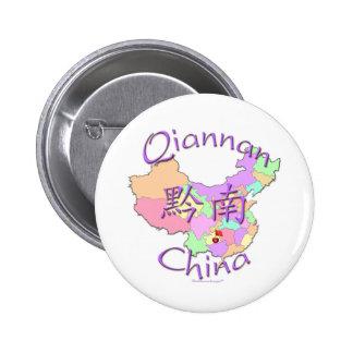 Qiannan China Button