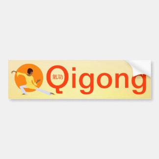 Qigong bumper sticker