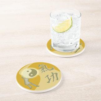 QiGong Sandstone Coaster