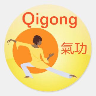 Qigong sticker