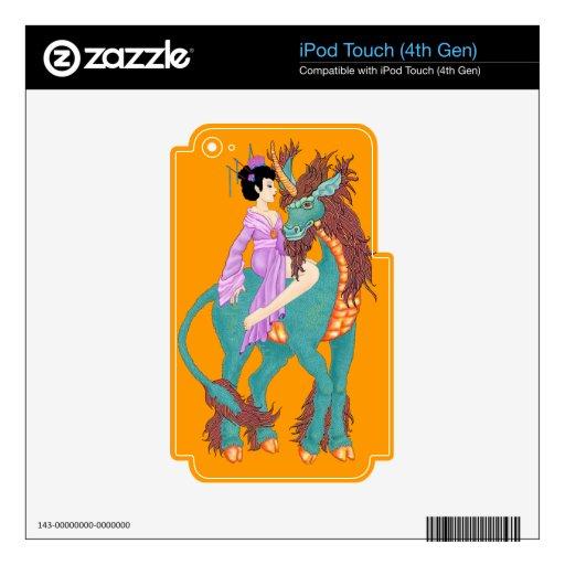 Qilin Calcomanía Para iPod Touch 4G