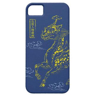 Qilin in the Choju-jinbutsu-giga KON color iPhone SE/5/5s Case