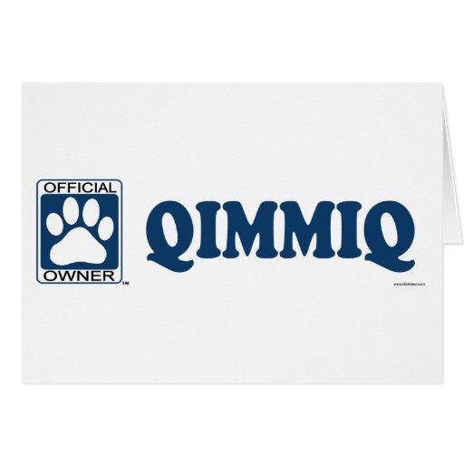 QIMMIQ_blue Tarjeta De Felicitación