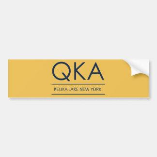 QKA Keuka Lake New York Bumper Sticker
