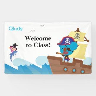 Qkids Classroom Banner