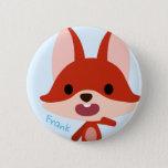 "Qkids Frank Fox button<br><div class=""desc"">Hi there! Here is a button of Frank Fox.</div>"