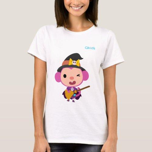 Qkids Halloween Shirt Momo