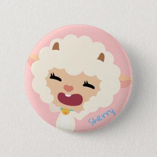 Qkids Sherry Sheep button