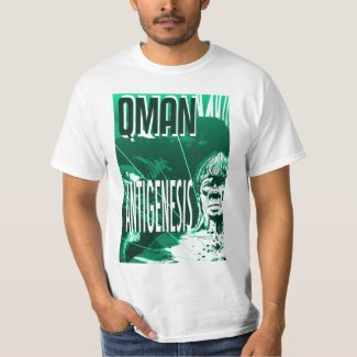 QMAN - Antigenesis T-Shirt shirt