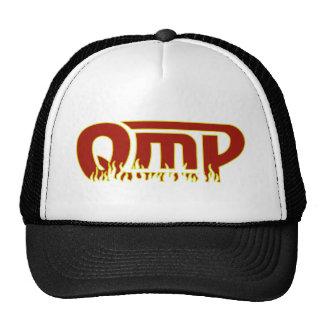 QmP Fire Logo Trucker Hat