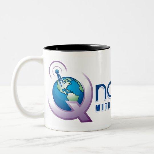 QNation.FM Two-Tone Mug