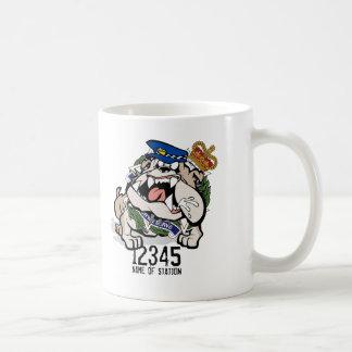 QPS QLD Police Service Angry Dog Coffee Mug