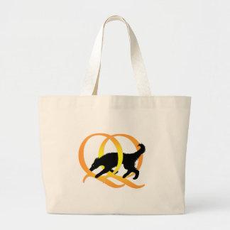 QQ Weaving Dog Bag