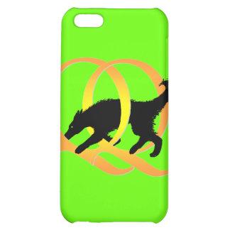 QQ Weaving Dog iPhone 5C Cases