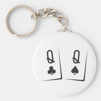QQblack Keychain