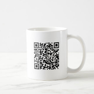 QR Barcode: Now you've scanned me.... Coffee Mug