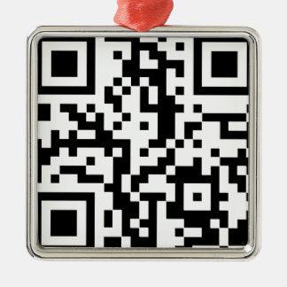 Qr BASIC Metal Ornament