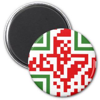 QR-Code-Algerie Magnet