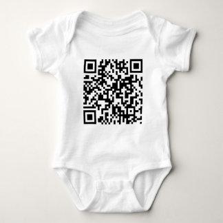 QR Code Baby Bodysuit