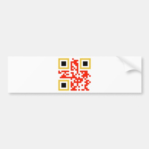 QR-Code-Belgie Car Bumper Sticker