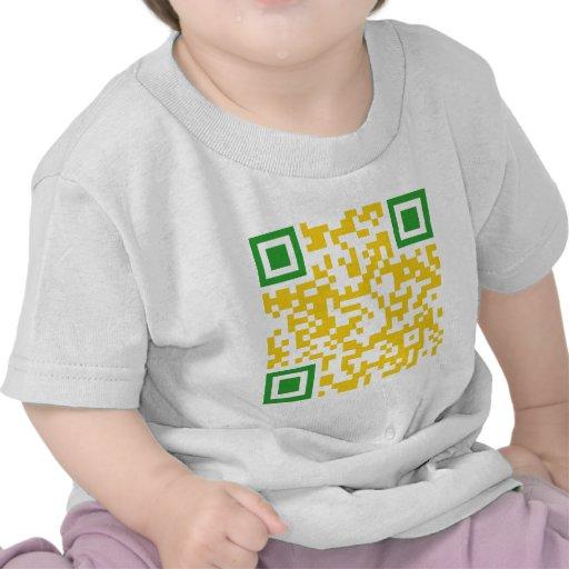 QR-Code-Brasil T Shirt