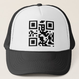 "QR code ""call me"" cap"