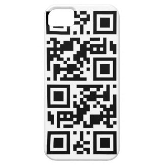 """QR code """"call me"""" iphone 5 iPhone 5 Cover"""