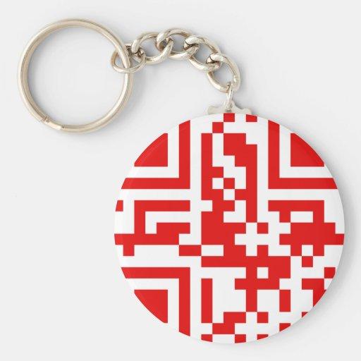 QR-Code-Canada Keychain