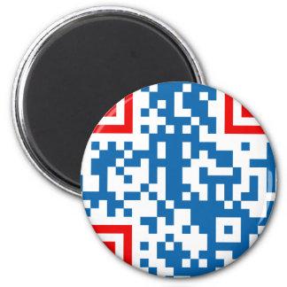 QR-Code-Ceská-republika Magnet