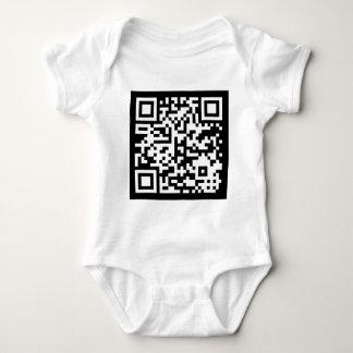 QR Code Código Baby Bodysuit