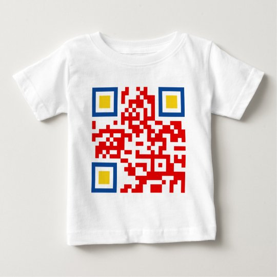 QR-Code-Colombia Baby T-Shirt
