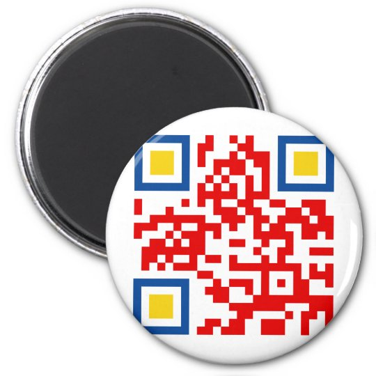 QR-Code-Colombia Magnet